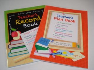 Teacher Resources LESSON PLAN & RCORD BOOK Set Classroom Teaching