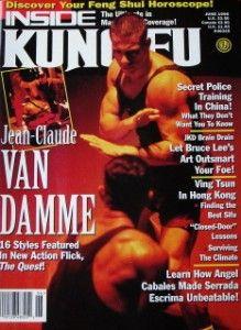 96 Inside Kung Fu Magazine Jean Claude Van Damme Black Belt Karate