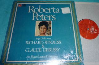 Roberta Peters Singt Richard Strauss Debussy BASF LP