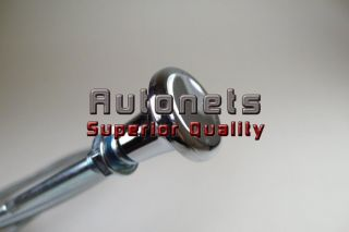 Chrome Steel Universal Fit 6 ft Manual Choke Cable Street Hot Rat Rod
