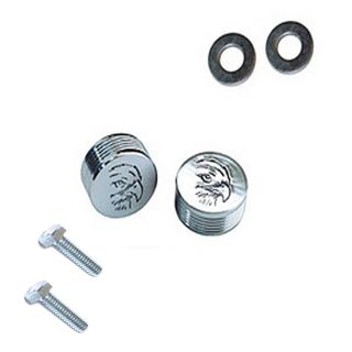 Custom Chrome Eagle Air Cleaner Bolt Kit for Harley Sportster Filter