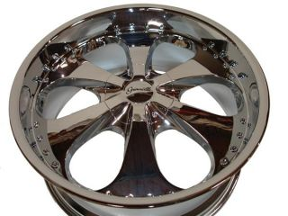 22 Chrome Wheels Rims Chevy Tahoe GMC Yukon 1500 5LUG 5x127 5x135
