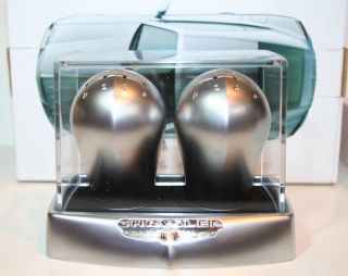 RARE New Chrysler Crossfire SRT6 Alloy Shift Knobs Manufacturer Dealer