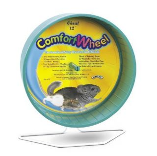 NEW Super Pet Chinchilla Giant Comfort Exercise Wheel Colors Vary