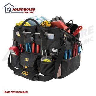 CLC 1535 37 Pocket 18 Tool Bag w Top Plastic Tray New