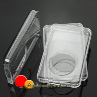 New Clear Crystal Hard Plastic Cover Case Skin for Apple iPod Classic