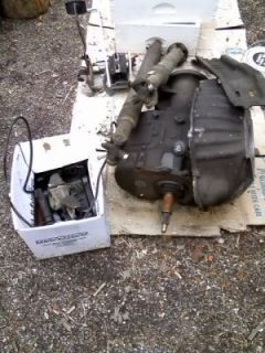 np 435 ford 4x4 transmission and drive lines