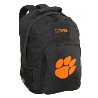 clemson tigers black youth southpaw backpack