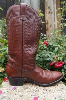 Vintage Mason CHIPPEWA Falls Western Cowboy Boots 8 D