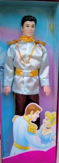 Simba Disney Princess Cinderellas Prince Charming Doll New in Box