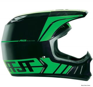 JT Racing ALS2 Full Face Helmet   Back In Black 2012