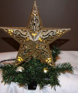 Custom Made LED Lighted Star Christmas Stocking Holder