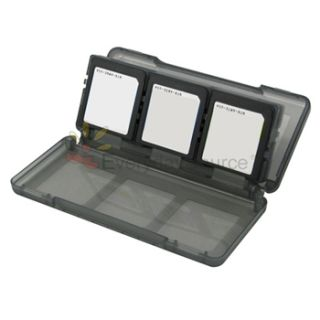 Clear Hard Case Smoke Card Case 2 LCD Guard AC Travel Charger for