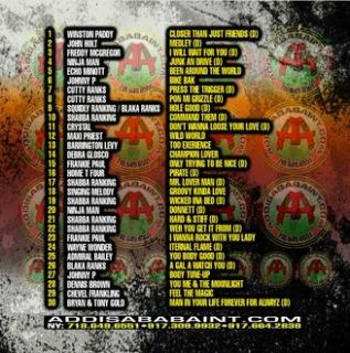 Live Juggling Mix with Rory Classic Dancehall Reggae Mix CD