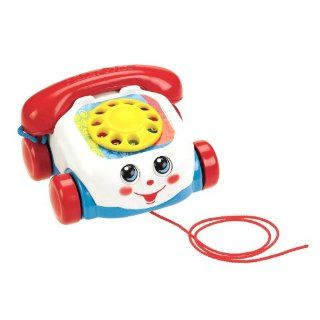 Fisher Price Toddler Classic Pull Toy Chatter Telephone