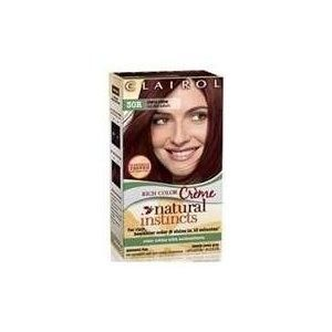 NEW w/ box Clairol Natural Instincts Cherry Creme Dark Auburn Red Hair