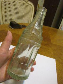 CLAY CENTER KANSAS SQUARE COKE BOTTLE SODA WATER 6 STAR PANELS DATED