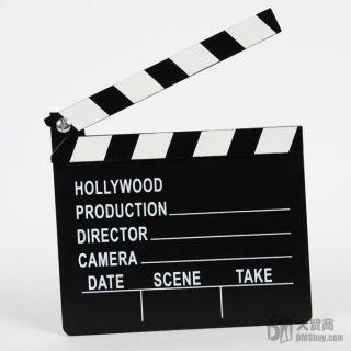 New Fun Toy Hollywood Clapper Board Directors Film Slate Movie Cut
