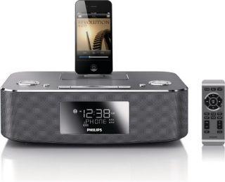 DC291 37 30 Pin iPod iPhone iPad Alarm Clock Speaker Dock New