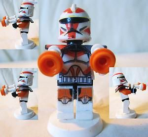 LEGO Star Wars Clone Trooper Commander Cody Custom Mini Figure