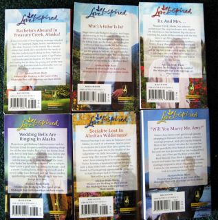 Series Alaskan Bride Rush 6 Books Love Inspired Christian Romance