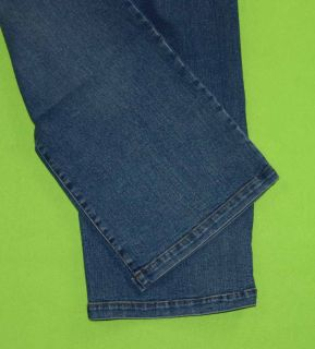 Christina sz 4 Capri Stretch Womens Blue Jeans Denim Pants EG76