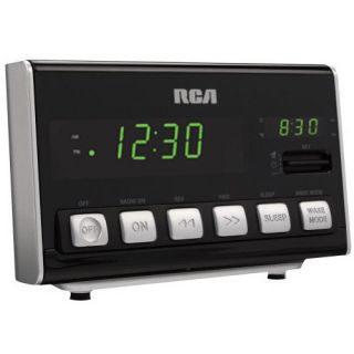 RCA RC10R Dual Display Alarm Clock Radio