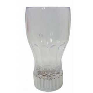 Light Up Flashing Cup Clear Plastic Barware Party Drink Cup New