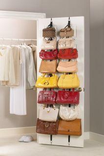 Handbag Hat Rack Wall Closet Door Hanger Hook Organizer Storage NEW