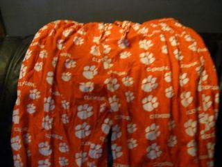 Clemson Tigers NCAA Football PJ Orange Mens XL