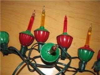 Vintage Noma Christmas Tree Bubble Lights 7 Light String