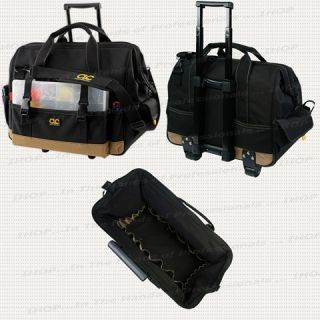 CLC 1168 Trolley Tool Bag 18 w 44 Pocket Sideglide™ Rolling Tool