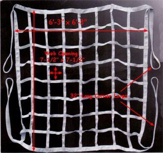 Cargo Net Strap Nylon Web Climb ing Tie Down Truck Bed