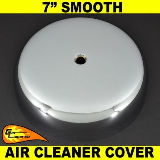 Harley 7 Smooth Chrome Air Cleaner Cover Sportster