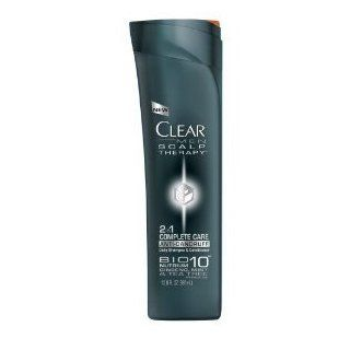 Clear Mens Scalp Therapy Complete Care 2 in 1 Anti Dandruff Shampoo