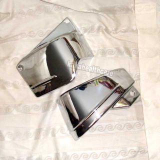 Chrome Metal Battery Side Covers VStar Classic XVS 650
