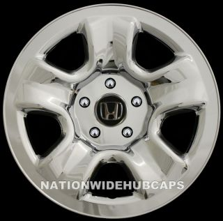 CRV 16 Chrome Wheel Covers Rim Skins Hub Caps for Steel Wheels
