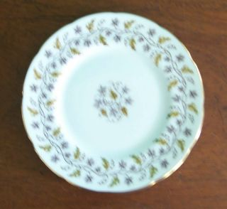 COALPORT Bone China MINERVA White DINNER PLATE