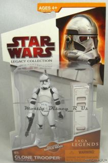 New Star Wars Clone Wars Clone Trooper Action Figure