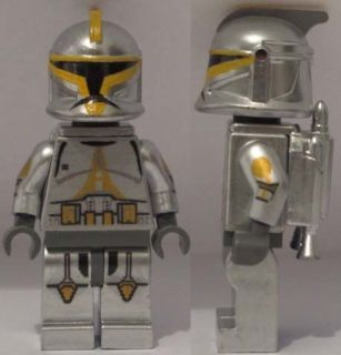 Lego Star Wars CUSTOM Clone Trooper commander minifig captain rex gree