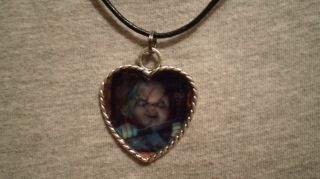 Chucky Doll Horror Childs Play Killer Necklace Psychobilly Goth