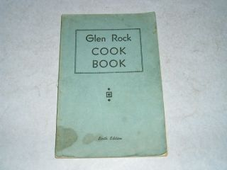 Vintage 1946 Glen Rock PA Church Ladies Cookbook Cook Book