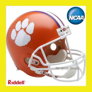 Clemson Tigers Official Full Size Replica Football Helmet by Riddell