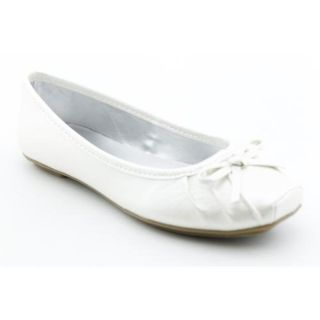 Simpson Leve Youth Kids Girls Size 13.5 White Ballet Flats Shoes