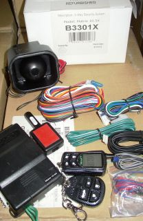 CLIFFORD MATRIX 10.5X 2 WAY LCD PAGER SECURITY SYSTEM W/ RESPONDER