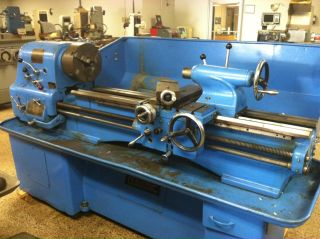 Clausing Colchester 15 x 48 Gap Bed Lathe