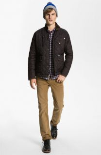 Penfield Jacket, Penny Stock Shirt, The Rail by Public Opinion T Shirt & J Brand Slim Straight Leg Jeans