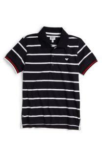 Armani Junior Stripe Polo (Big Boys)