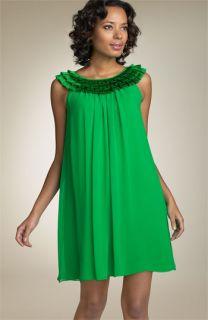 Maggy London Silk Chiffon Dress