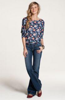 WallpapHer Top & Big Star Boot Cut Jeans